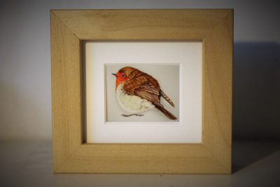 Mini framed robin