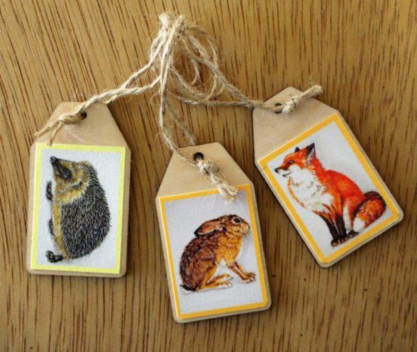 gift tag mammals